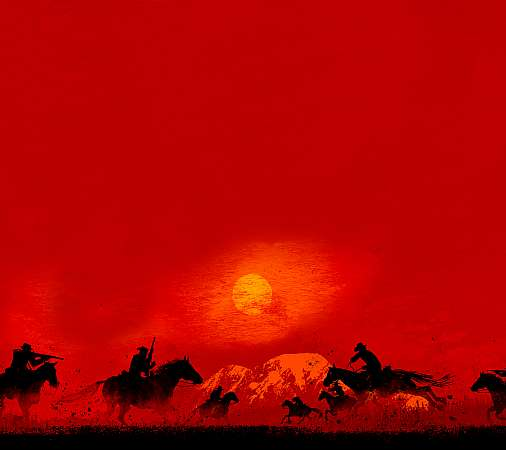 Red Dead Redemption 2 Móvil Horizontal fondo de escritorio