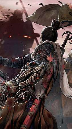 Sekiro: Shadows Die Twice Móvil Vertical fondo de escritorio