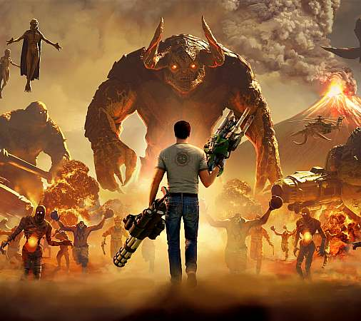Serious Sam 4 Móvil Horizontal fondo de escritorio
