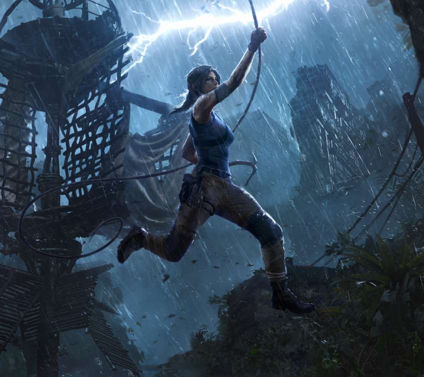 Shadow of the Tomb Raider: The Pillar Móvil Horizontal fondo de escritorio