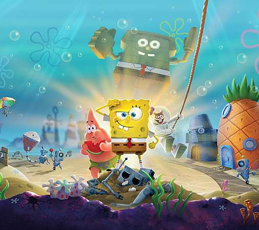 SpongeBob SquarePants: Battle for Bikini Bottom - Rehydrated Móvil Horizontal fondo de escritorio