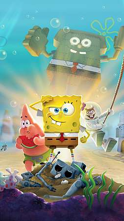SpongeBob SquarePants: Battle for Bikini Bottom - Rehydrated Móvil Vertical fondo de escritorio