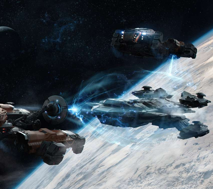 Star Citizen Móvil Horizontal fondo de escritorio
