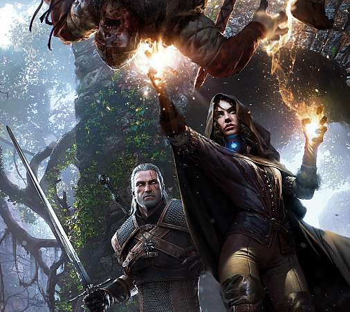 The Witcher 3: Wild Hunt Móvil Horizontal fondo de escritorio