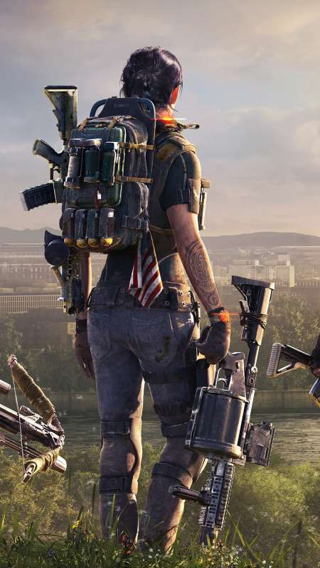 Tom Clancy's The Division 2 Móvil Vertical fondo de escritorio