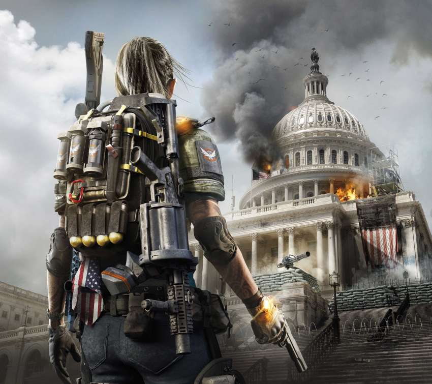 Tom Clancy's The Division 2 Móvil Horizontal fondo de escritorio