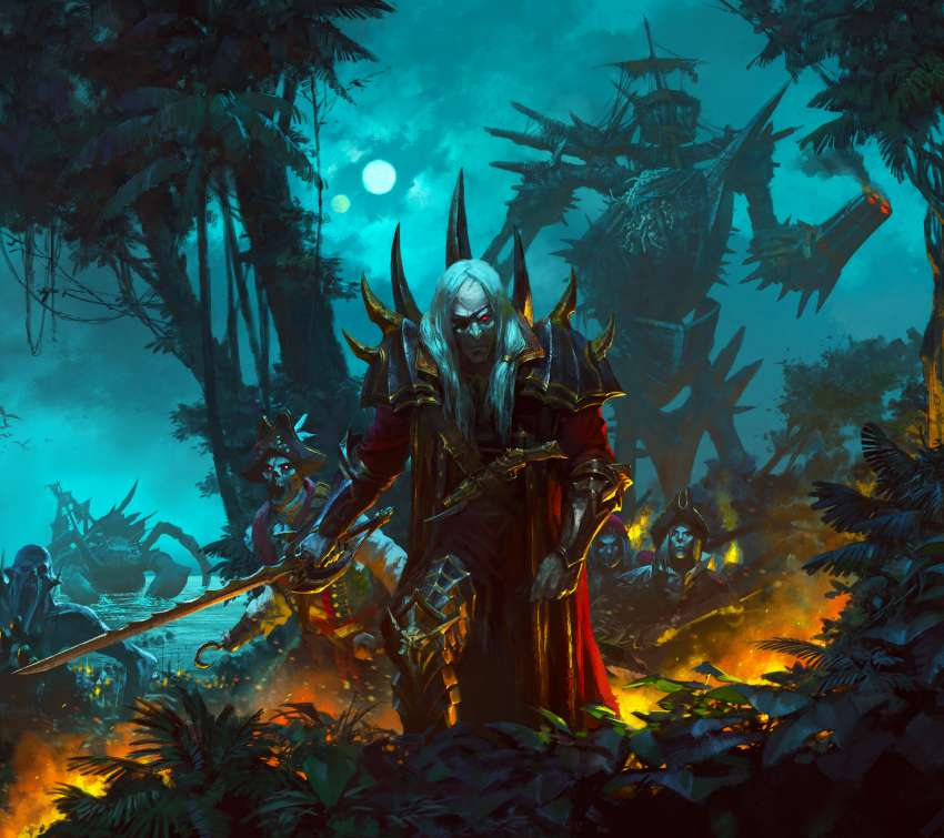 Total War: Warhammer 2 - Curse of the Vampire Coast fondo de escritorio