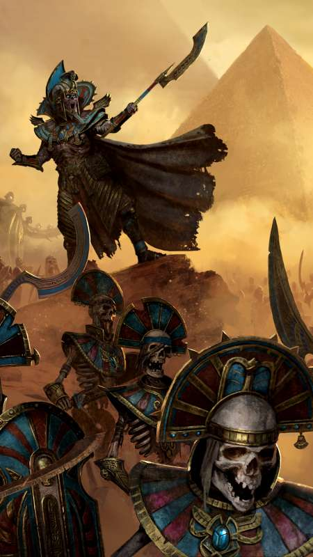 Total War: Warhammer 2 - Rise of the Tomb Kings Móvil Vertical fondo de escritorio