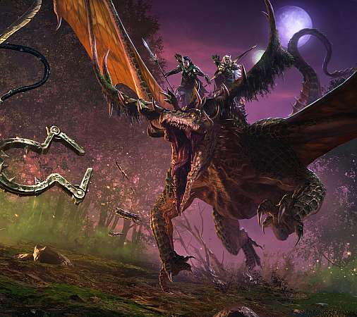 Total War: Warhammer 2 - The Twisted & the Twilight Móvil Horizontal fondo de escritorio
