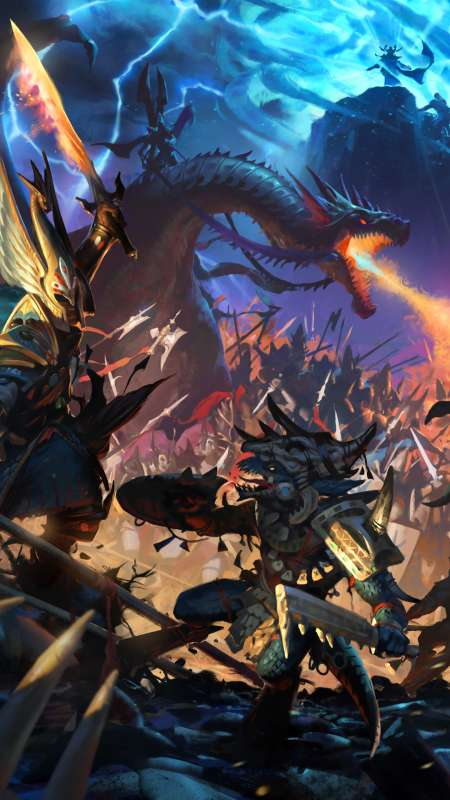 Total War: Warhammer 2 Móvil Vertical fondo de escritorio