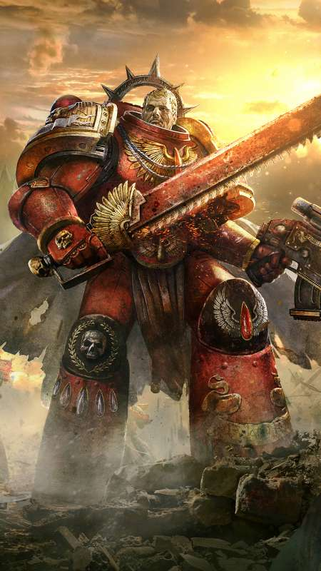 Warhammer 40,000: Eternal Crusade Móvil Vertical fondo de escritorio