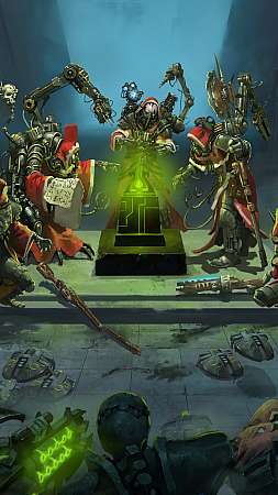 Warhammer 40,000: Mechanicus Móvil Vertical fondo de escritorio