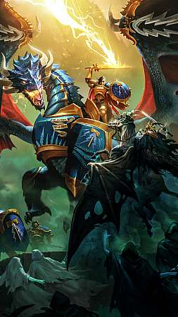 Warhammer Age of Sigmar: Storm Ground Móvil Vertical fondo de escritorio