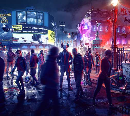 Watch Dogs: Legion Móvil Horizontal fondo de escritorio