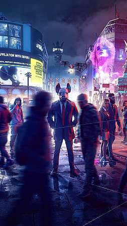 Watch Dogs: Legion Móvil Vertical fondo de escritorio