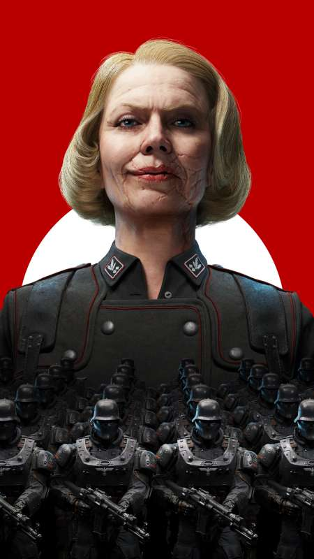 Wolfenstein 2: The New Colossus Móvil Vertical fondo de escritorio