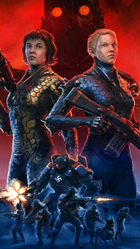 Wolfenstein: Youngblood Móvil Vertical fondo de escritorio