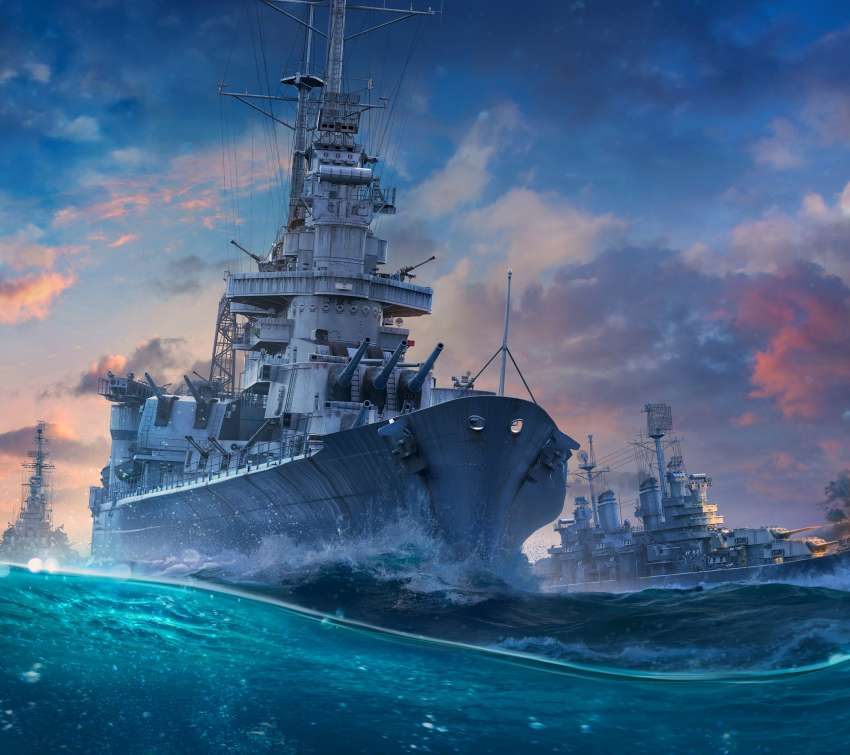 World of Warships Móvil Horizontal fondo de escritorio