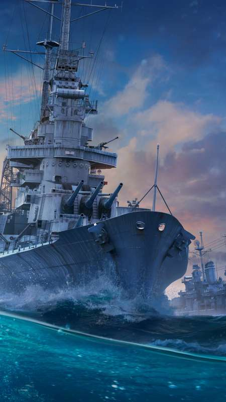 World of Warships Móvil Vertical fondo de escritorio