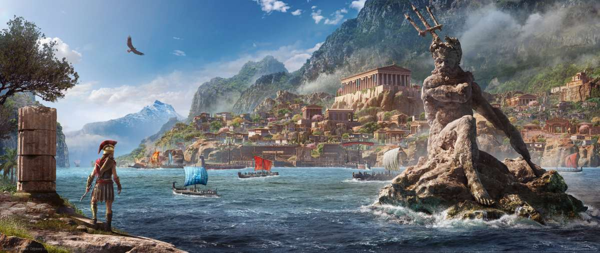 Assassin's Creed: Odyssey fondo de escritorio