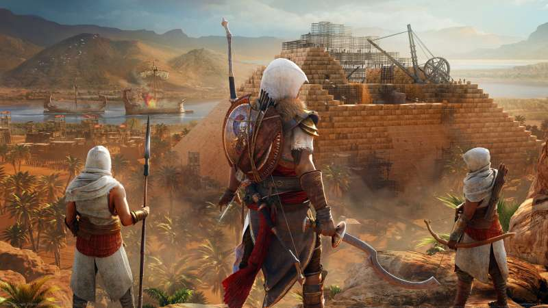 Assassin's Creed: Origins fondo de escritorio