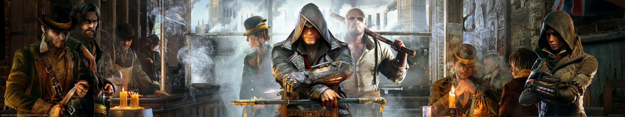 Assassin's Creed: Syndicate triple screen fondo de escritorio
