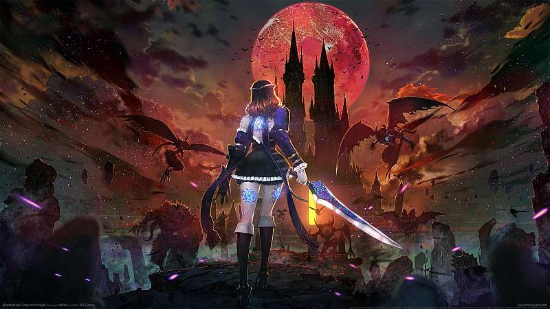 Bloodstained: Ritual of the Night fondo de escritorio