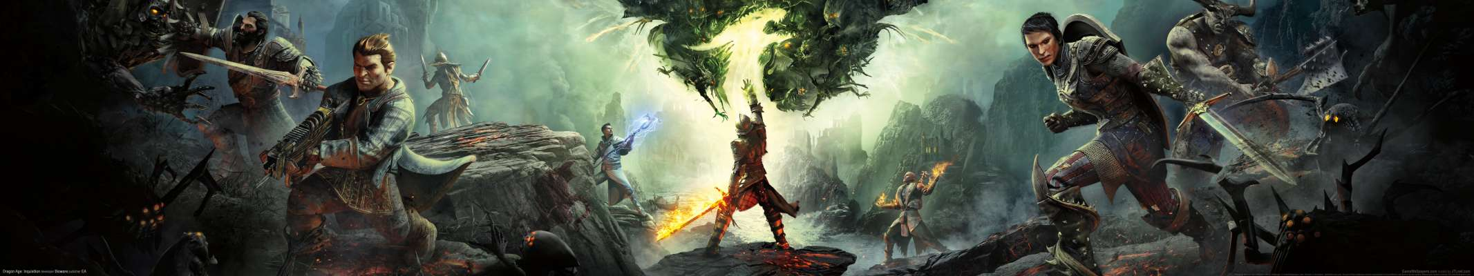 Dragon Age: Inquisition triple screen fondo de escritorio