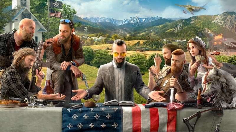 Far Cry 5 fondo de escritorio 01