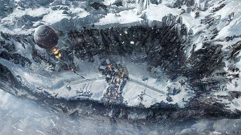 Frostpunk: On the Edge fondo de escritorio
