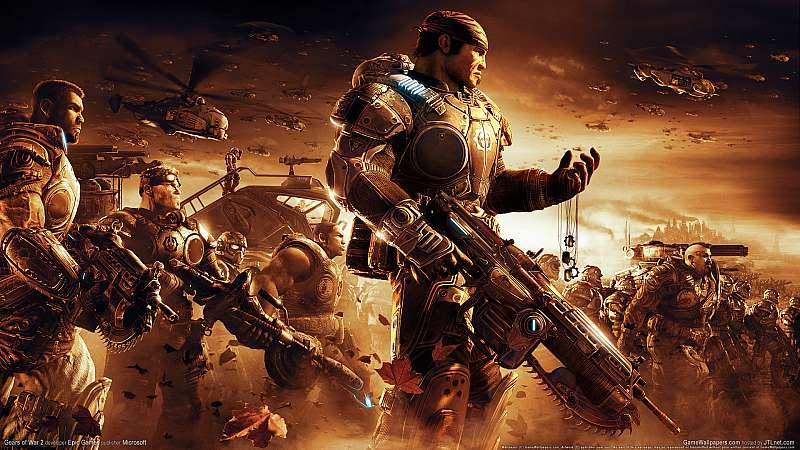 Gears of War 2 fondo de escritorio
