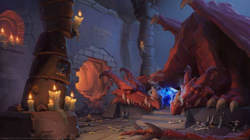 Hearthstone: Heroes of Warcraft - Kobolds & Catacombs fondo de escritorio
