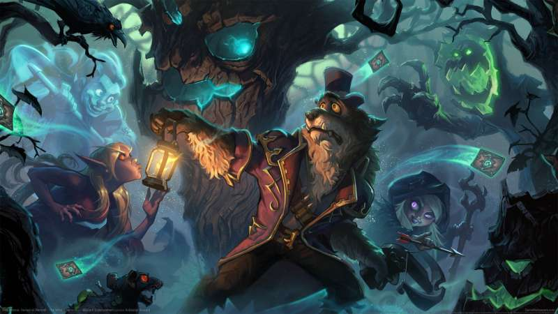 Hearthstone: Heroes of Warcraft - The Witchwood fondo de escritorio