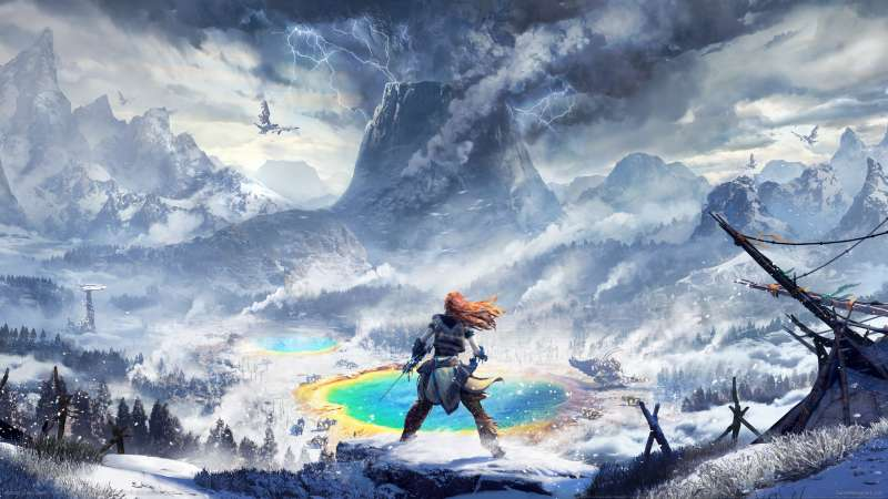 Horizon: Zero Dawn - The Frozen Wilds fondo de escritorio
