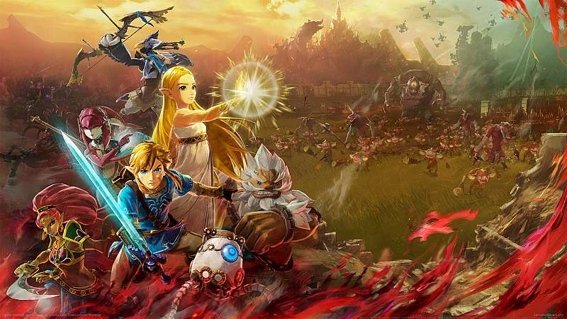 Hyrule Warriors: Age of Calamity fondo de escritorio