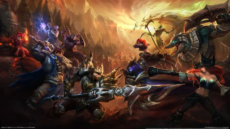 League of Legends fondo de escritorio 12