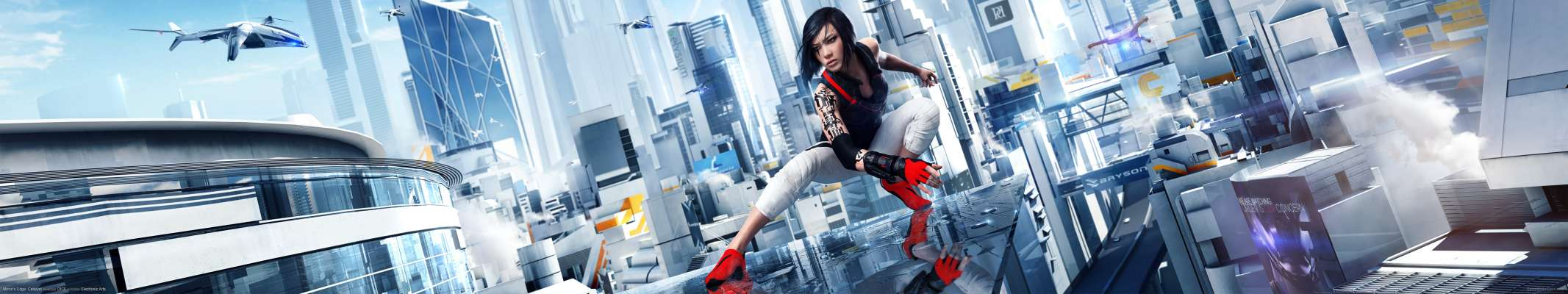 Mirror's Edge: Catalyst triple screen fondo de escritorio