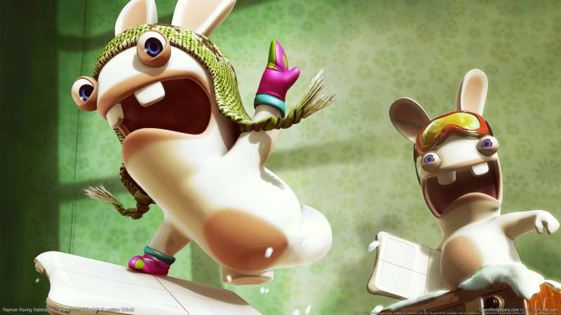 Rayman Raving Rabbids TV Party fondo de escritorio 02