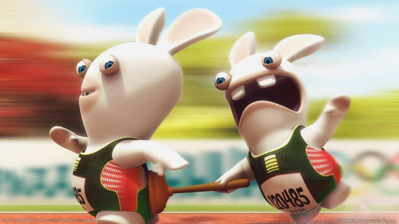 Rayman Raving Rabbids TV Party fondo de escritorio 03