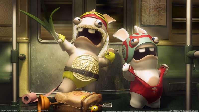 Rayman Raving Rabbids TV Party fondo de escritorio 06