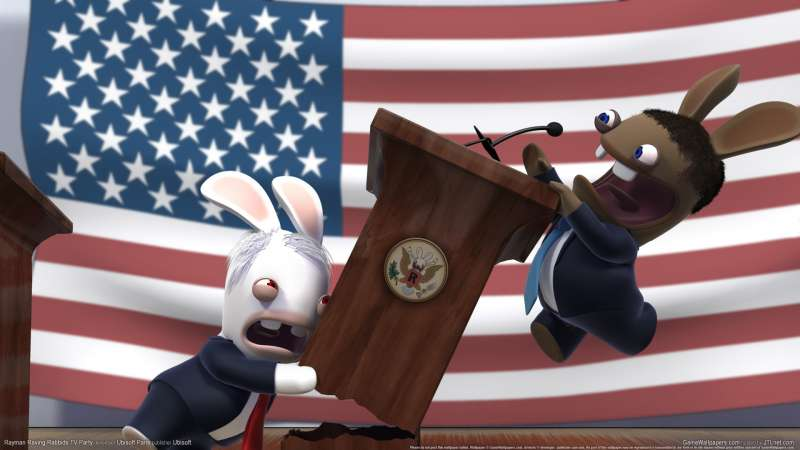 Rayman Raving Rabbids TV Party fondo de escritorio 07