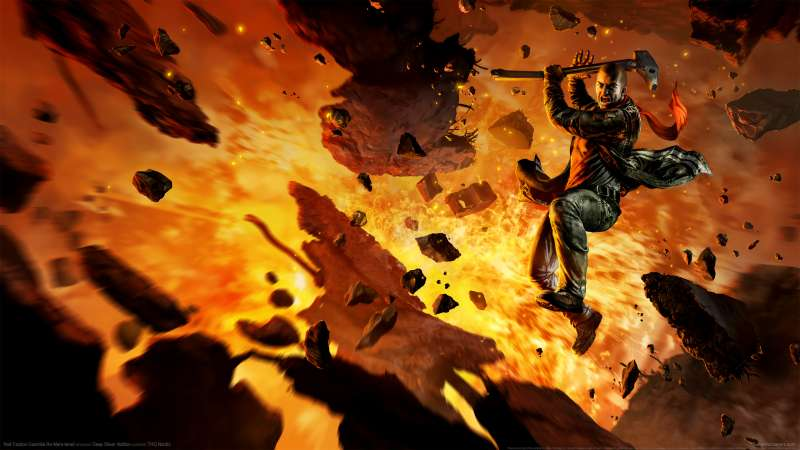 Red Faction: Guerrilla Re-Mars-tered fondo de escritorio