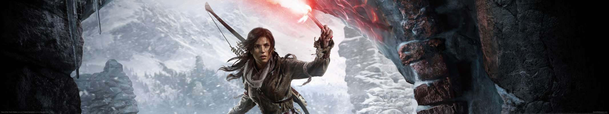 Rise of the Tomb Raider triple screen fondo de escritorio