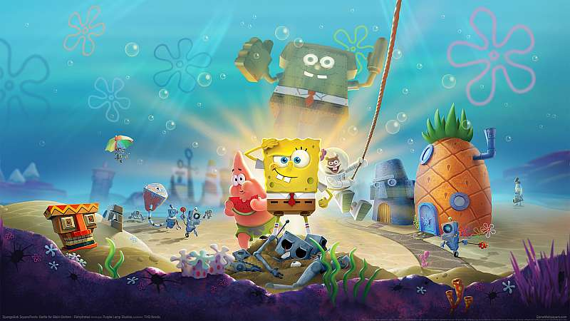 SpongeBob SquarePants: Battle for Bikini Bottom - Rehydrated fondo de escritorio