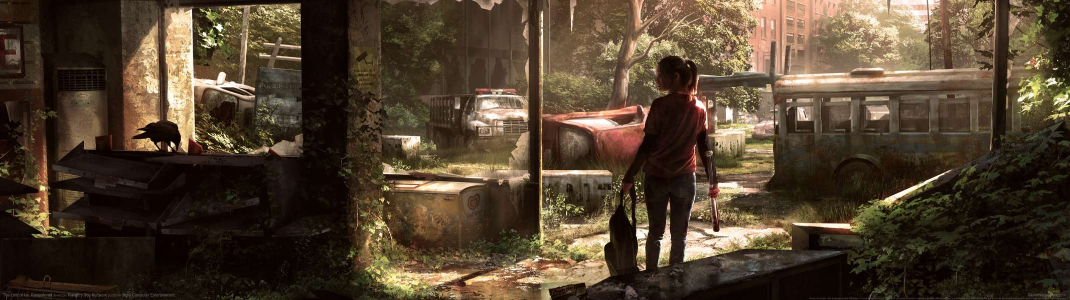 The Last of Us: Remastered dual screen fondo de escritorio