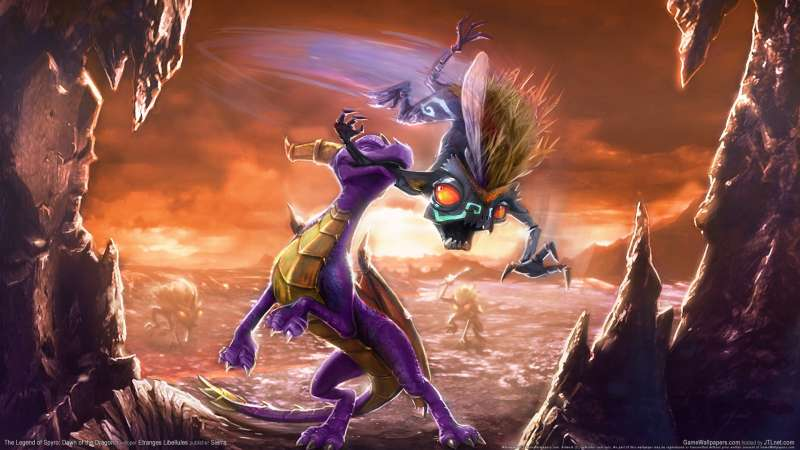 The Legend of Spyro: Dawn of the Dragon fondo de escritorio 01
