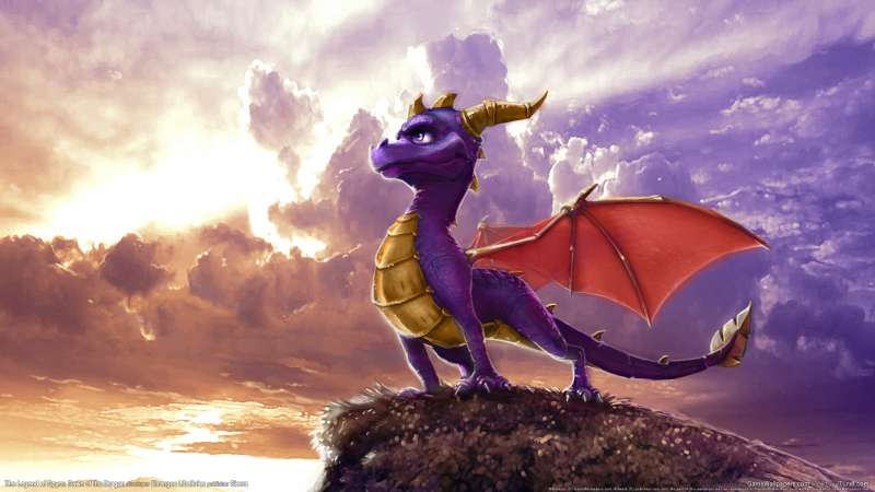 The Legend of Spyro: Dawn of the Dragon fondo de escritorio 02