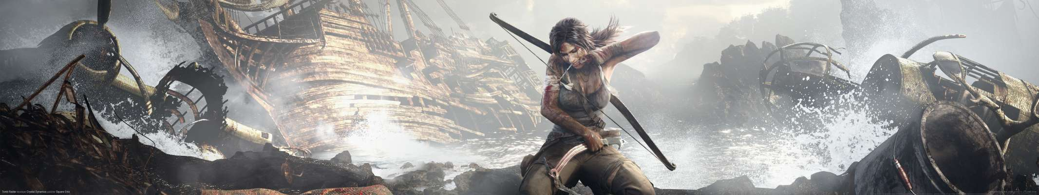Tomb Raider triple screen fondo de escritorio