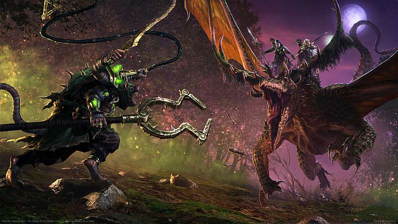 Total War: Warhammer 2 - The Twisted & the Twilight fondo de escritorio