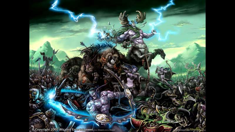 Warcraft 3: Reign of Chaos fondo de escritorio 02